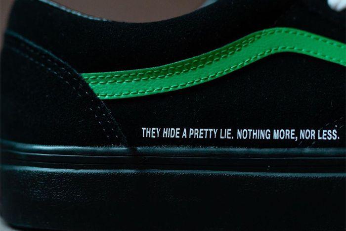 Coutie Vans Old Skool Nightmare Society Release Date Closeup