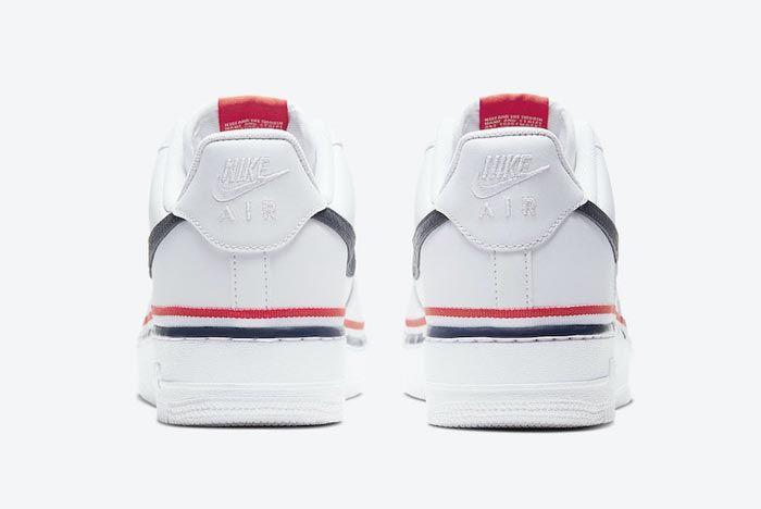 Nike Air Force 1 Ribbon Heels