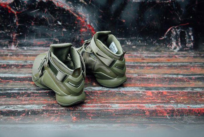 Nike Lebron Zoom Soldie 9 Olive 4