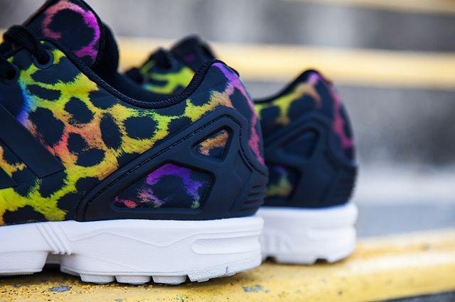 Adidas Zx Flux Wmns Multi Cheetah 1