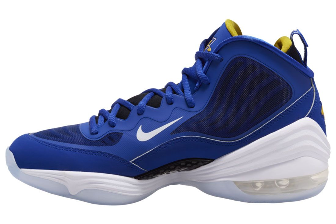 Nike Air Penny 5 Blue Chips 537331 402 Release Date 1 On White
