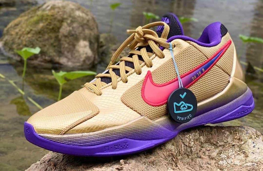 Undefeated Nike Kobe 5 Protro 'Hall of Fame'