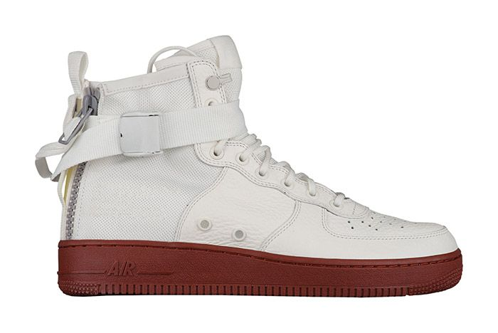 Nike Sf Air Force 1 White Red 1