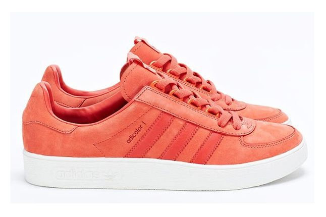 Adidas Consortium Adicolor Salmon Red Profile 1