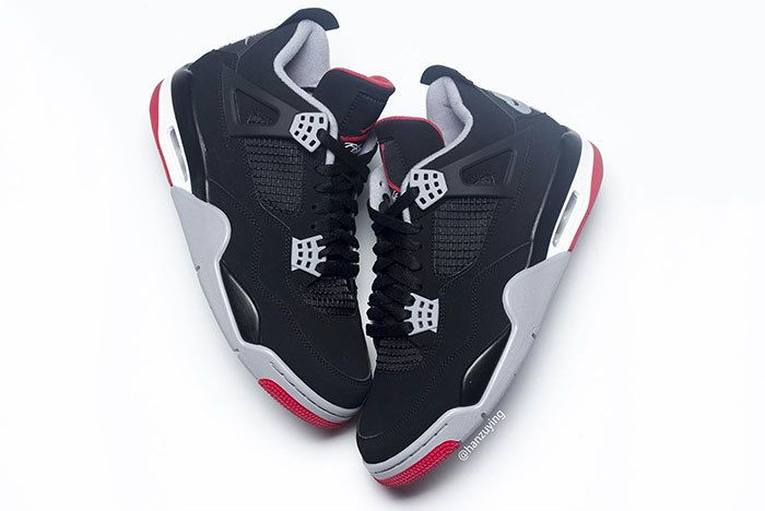 Air Jordan 4 Bred Black Red 2019 308497 060 8