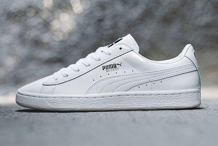 Puma Basket Pro Patent Pack White 1