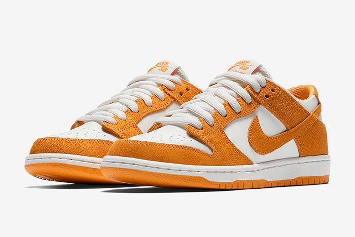 Nike Sb Dunk Low Circuit Orange 1