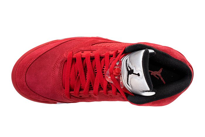 Air Jordan 5 Red Suede3 1