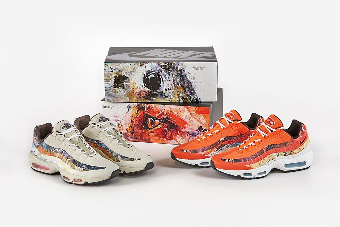 Size X Dave White X Nike Air Max 95 Collection 7