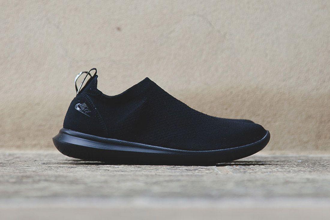 Nike Gakou Flyknit Triple Black White 7