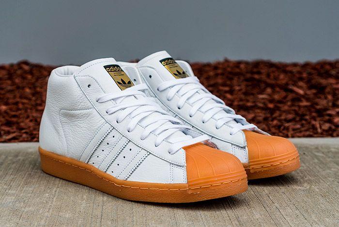 Adidas Pro Model 80 S Dlx White Gum 6