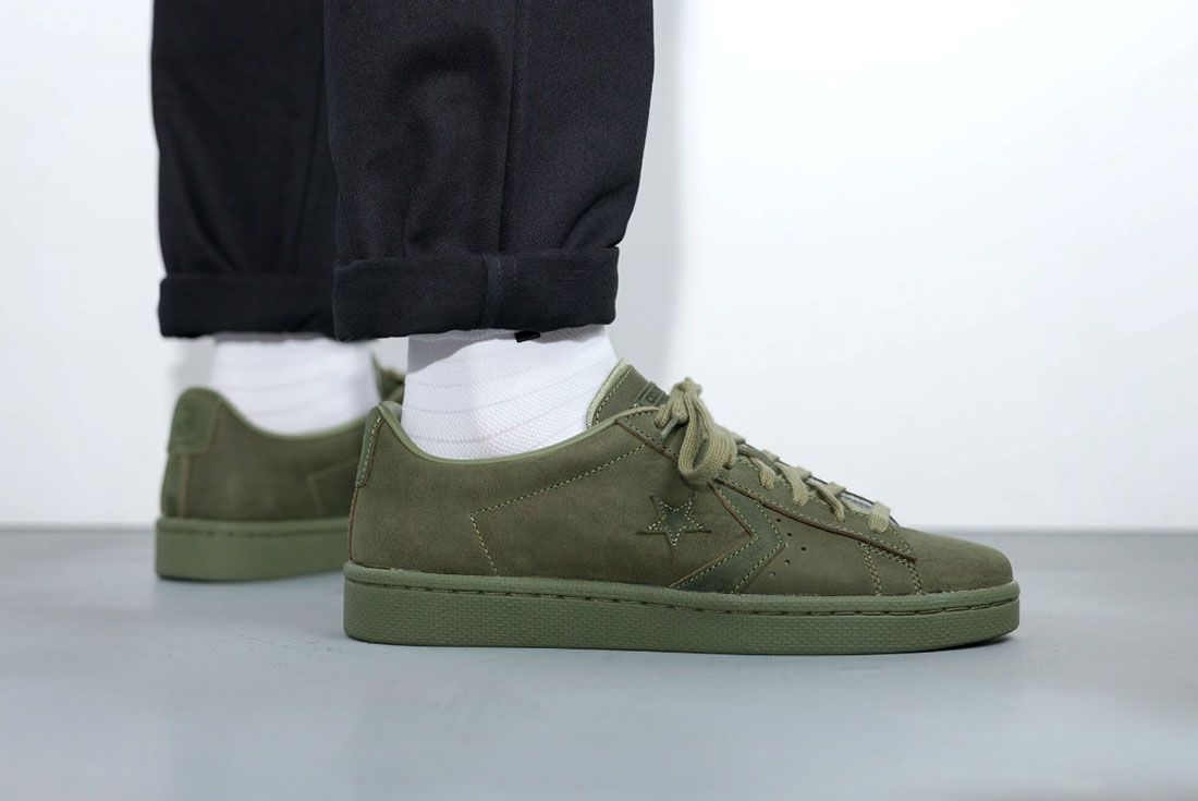 Converse Cons Pro Leather 76 Ox ' Autumn Mono' Pack 7