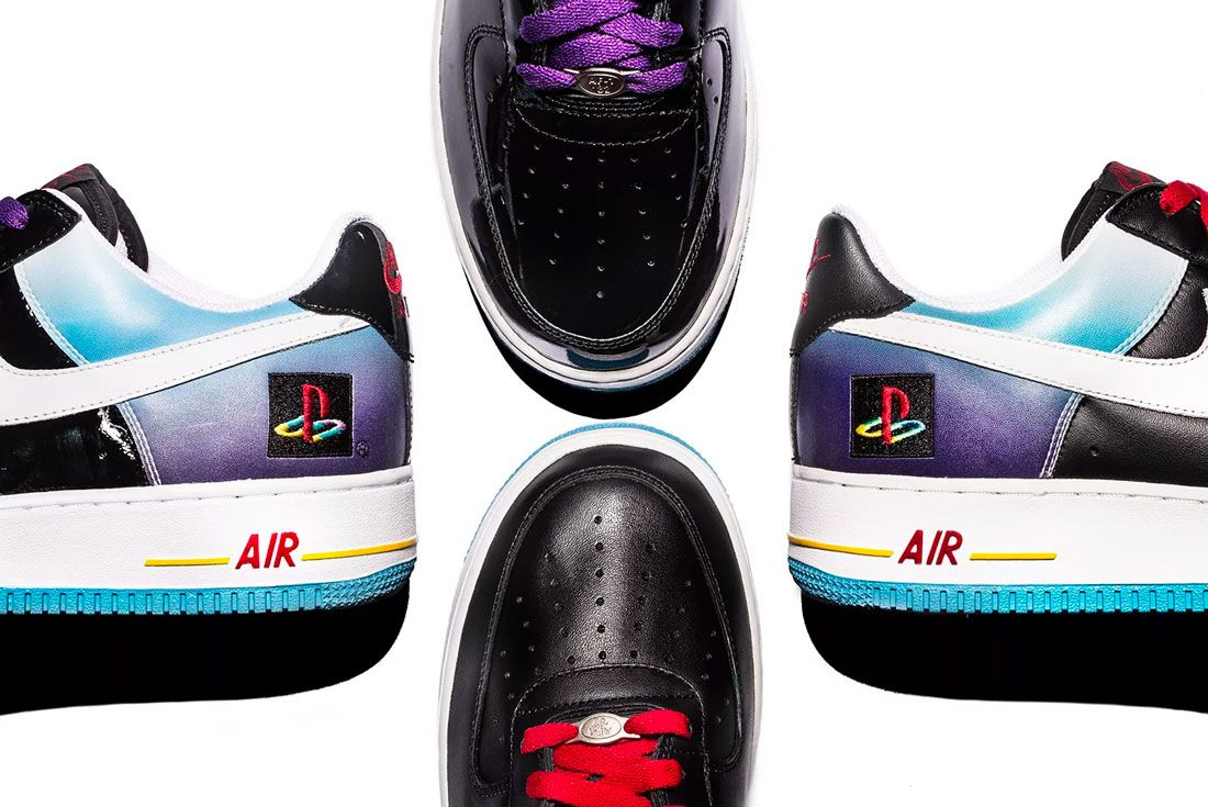 Nike Air Force 1 Playstation Close