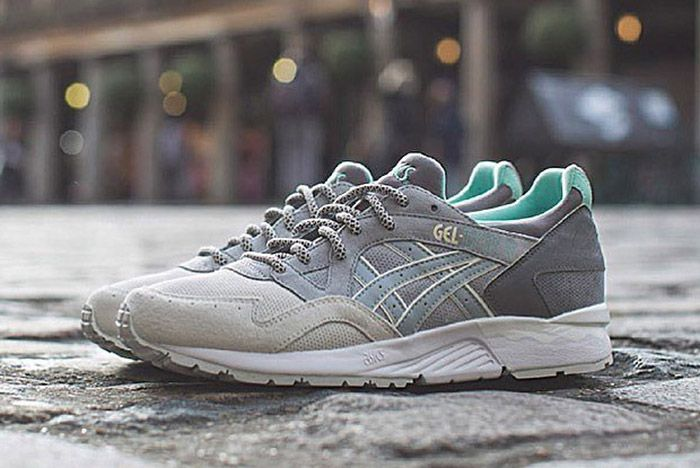 Offspring Asics Gel Lyte V Cobble Pack Part 2 Grey 2