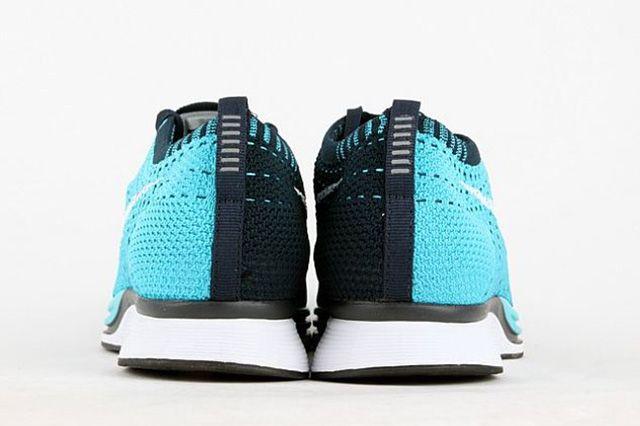 Nike Flyknit Racer Turquoise 4