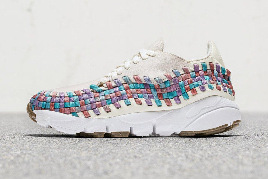 Nike Air Footscape Woven Ivory Fade 2