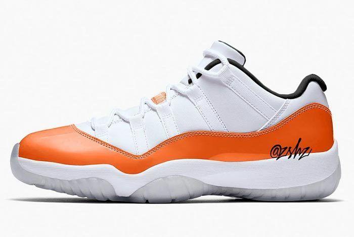 Air Jordan 11 Low Orange 1