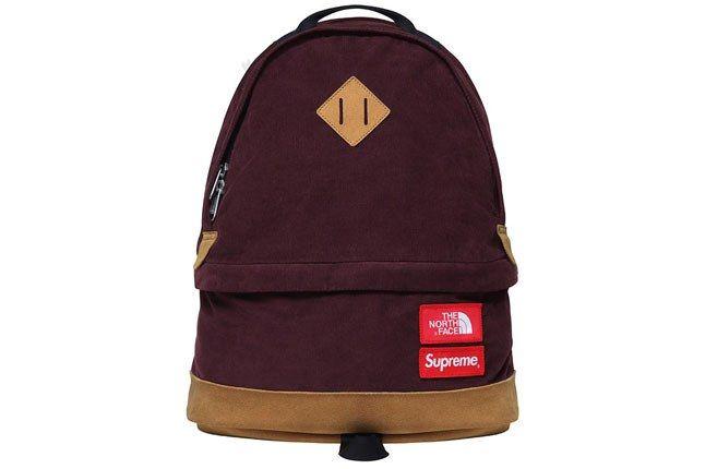 Supreme North Face Backpack Burgundy 1