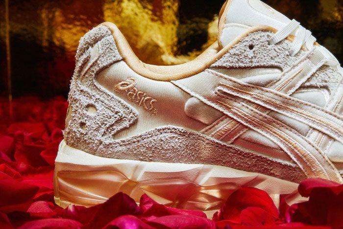 Asics Gel Kayano 5 Kzn Box Of Chocolates Right Heel Shot