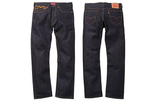Supreme Levi Jeans 1