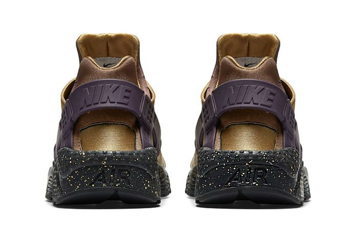 Nike Air Huarache Premium Brown Purple 4