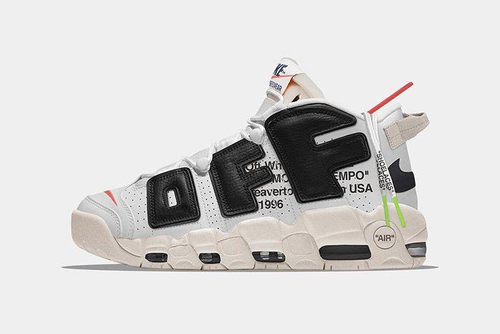 Nike Off White Uptempo Mock Up 2 Sneaker Freaker
