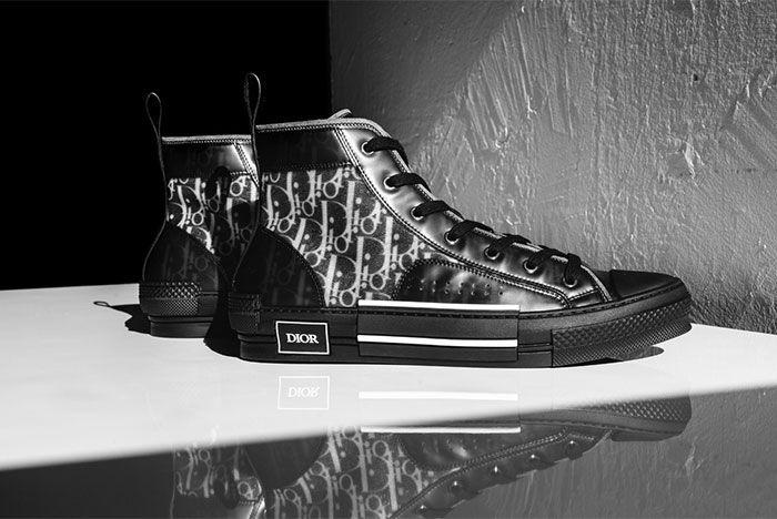 Dior B23 All Black Side Shot 4