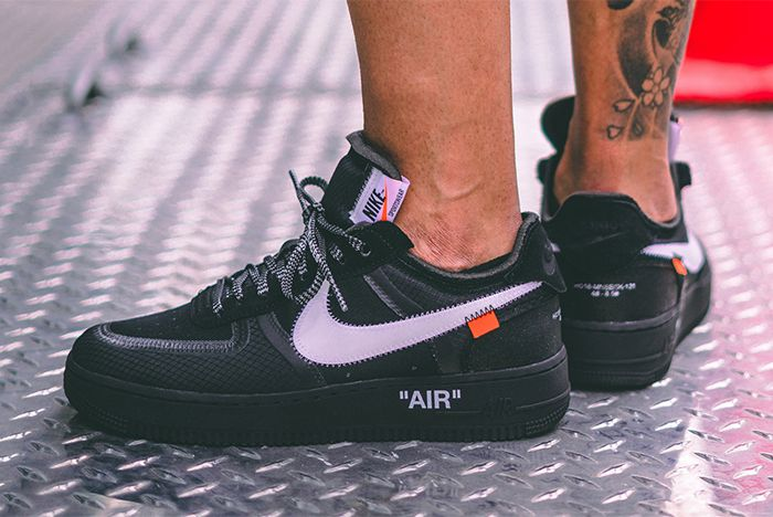 Off White Air Force 1 Black Cone 3