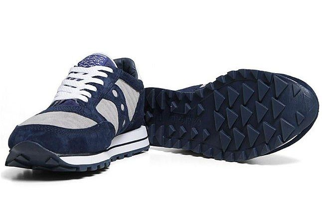 White Mountaineering Saucony Navy Sneaker 1