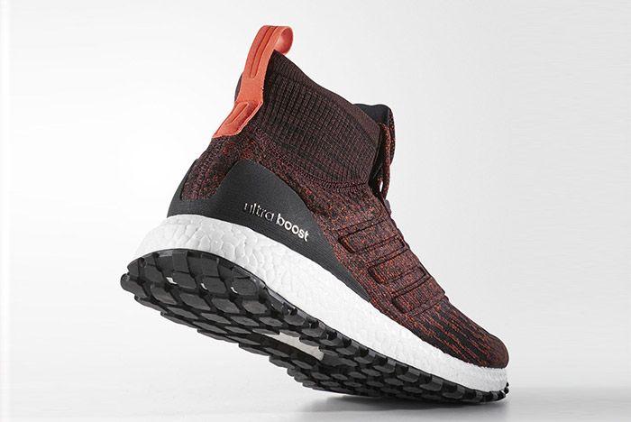 Adidas Ultra Boost Mid Atr Burgundy 4