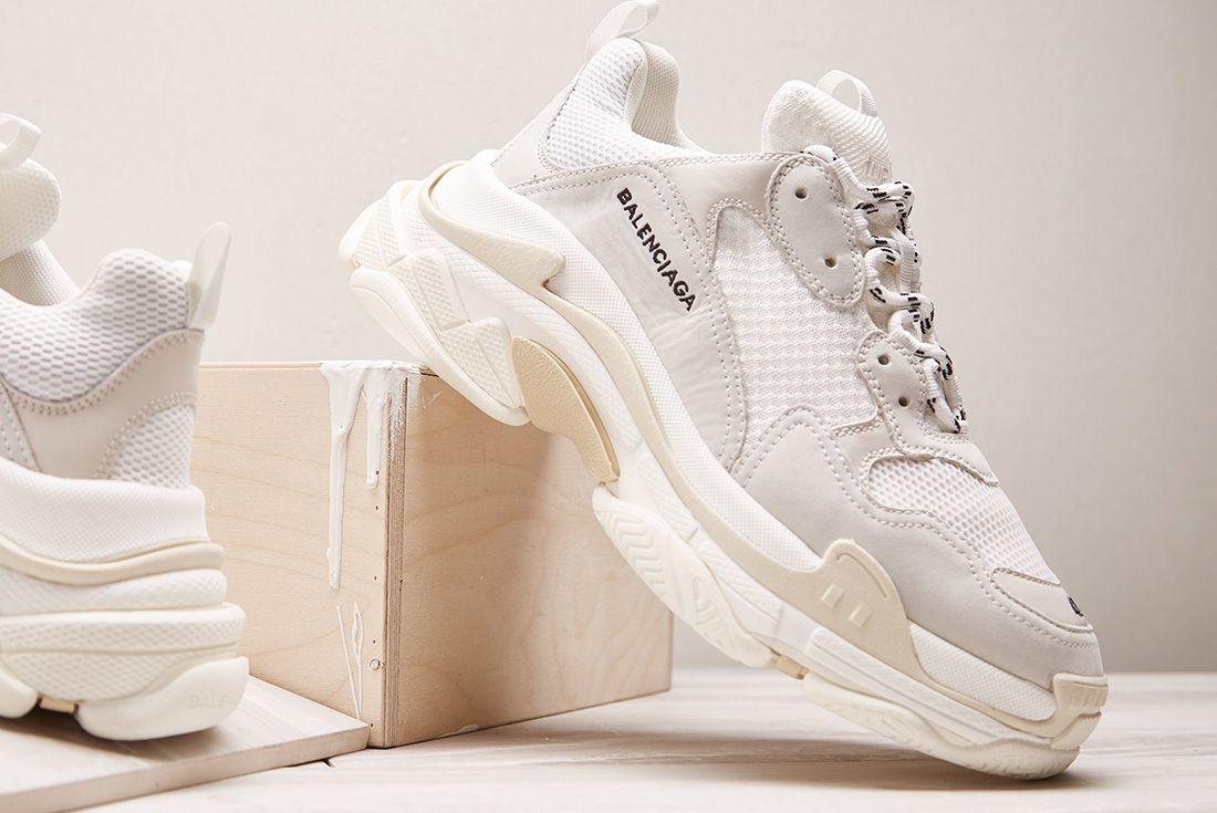 Balenciaga Triple S Cream Sneaker Freaker11