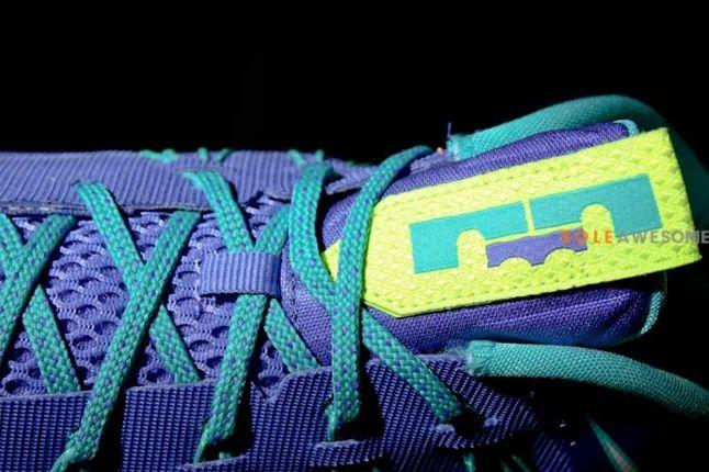 Nike Lebron X Low Sprite Tongue Detail 1