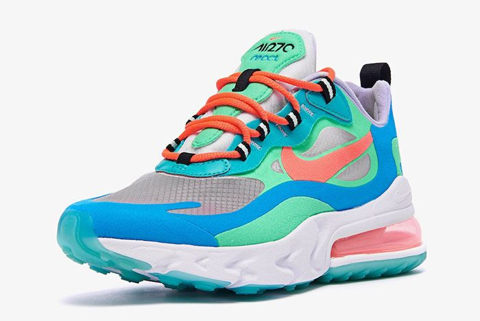 Nike Air Max 270 Blue Lagoon Front Side
