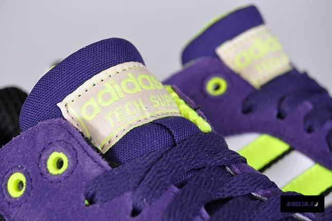 Adidas Originals Super Tech Electric Tongue Detail 1