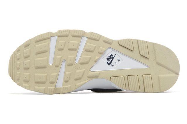 Nike Huarache Navy Green 05