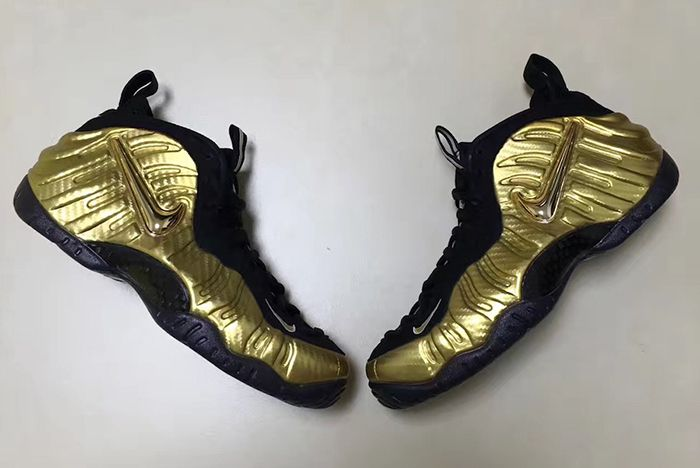Metallic Gold Foamposite Pros Are Dropping Late 2017