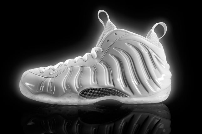 Nike Air Foamposite White Ice 1