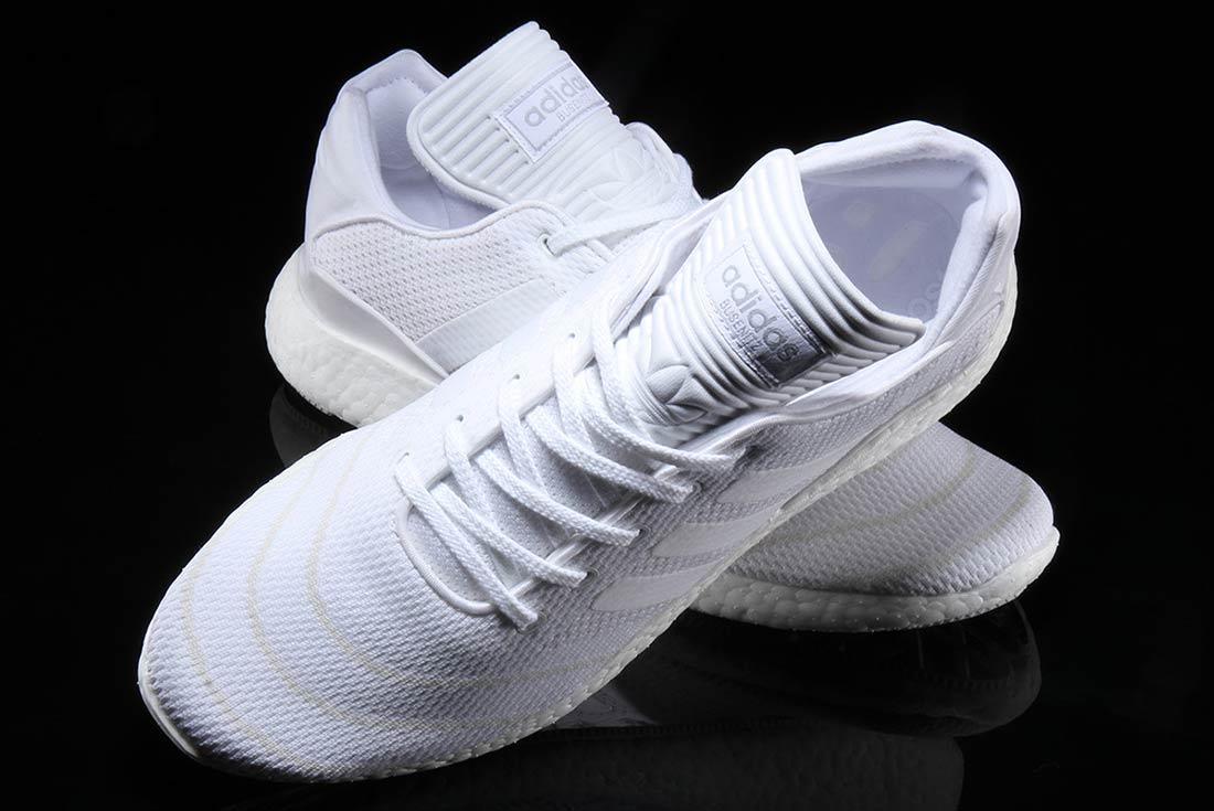 Adidas Busenitz Pure Boost Triple White 3