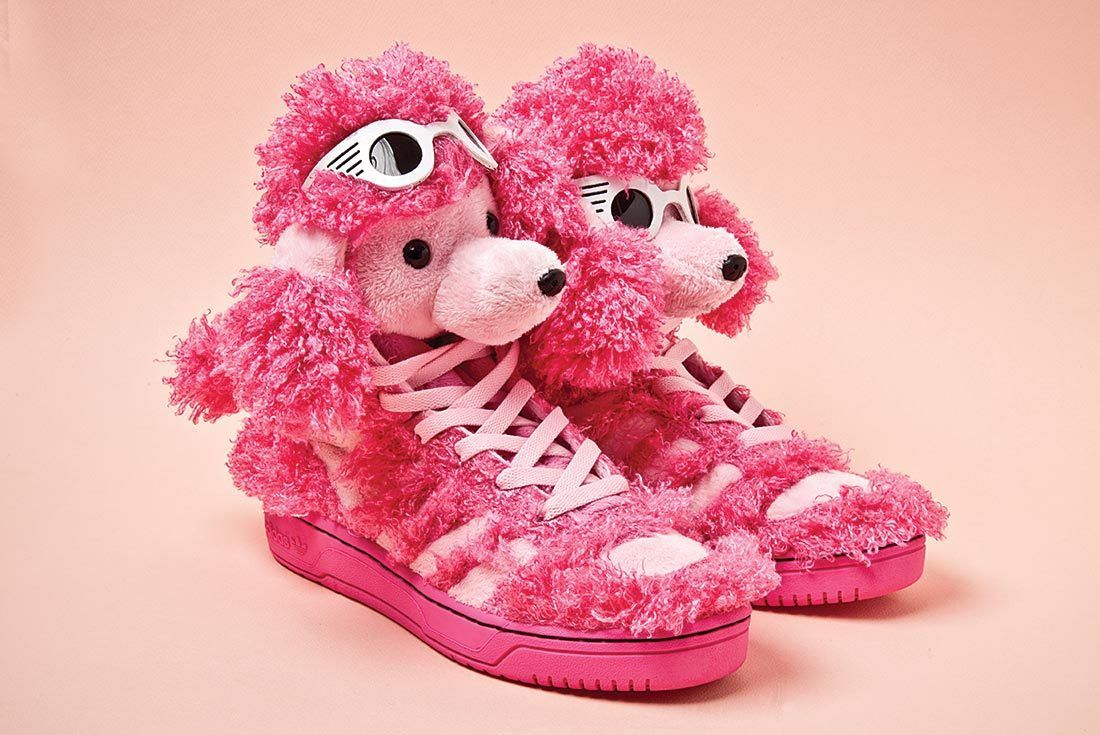 Adidas Jeremey Scott Pink Dog