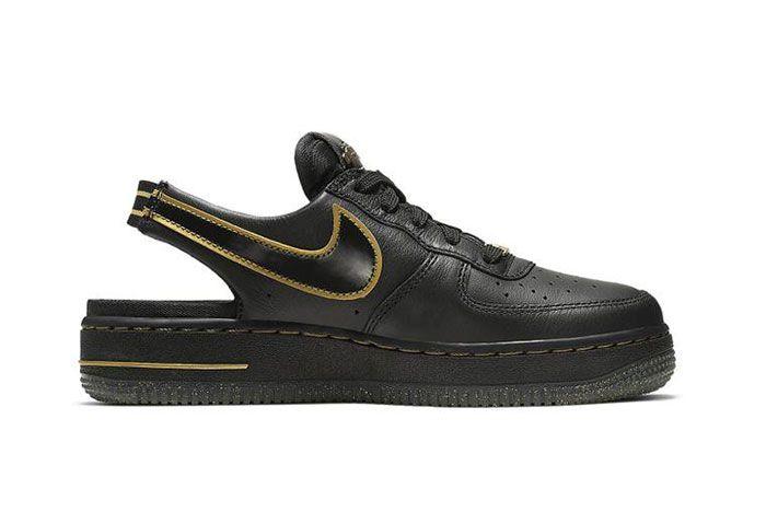 Nike Air Force 1 Vtf Black Side6