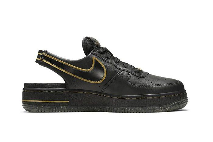 Nike Air Force 1 Vtf Black Side6