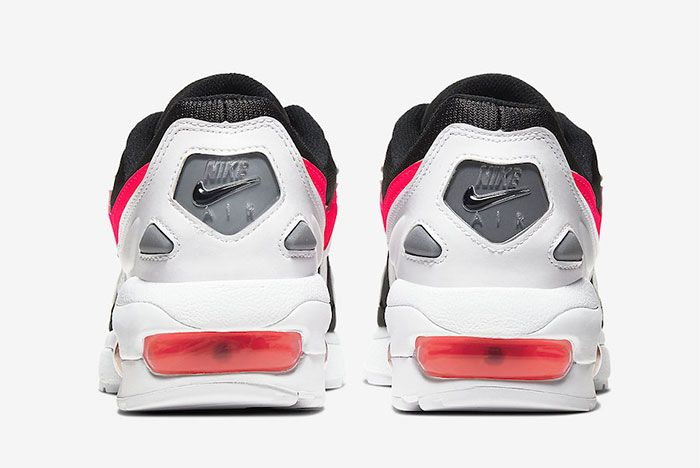 Nike Air Max2 Light Pink Heel