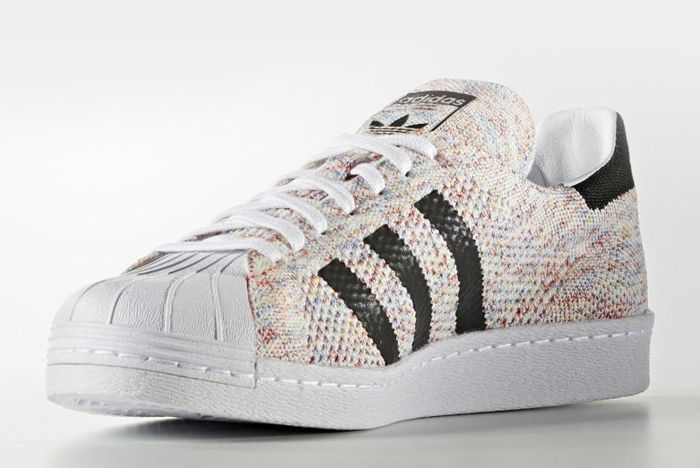 Adidas Superstar 80 S Primeknit Multicolour 3