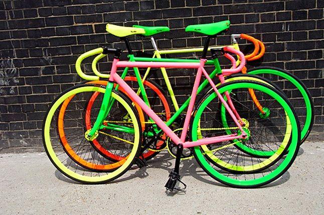 Fluro Bike Benedict Radcliffe 3