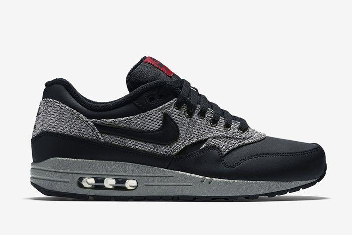Nike Air Max 1 Essential Knit Black Cool Grey 2