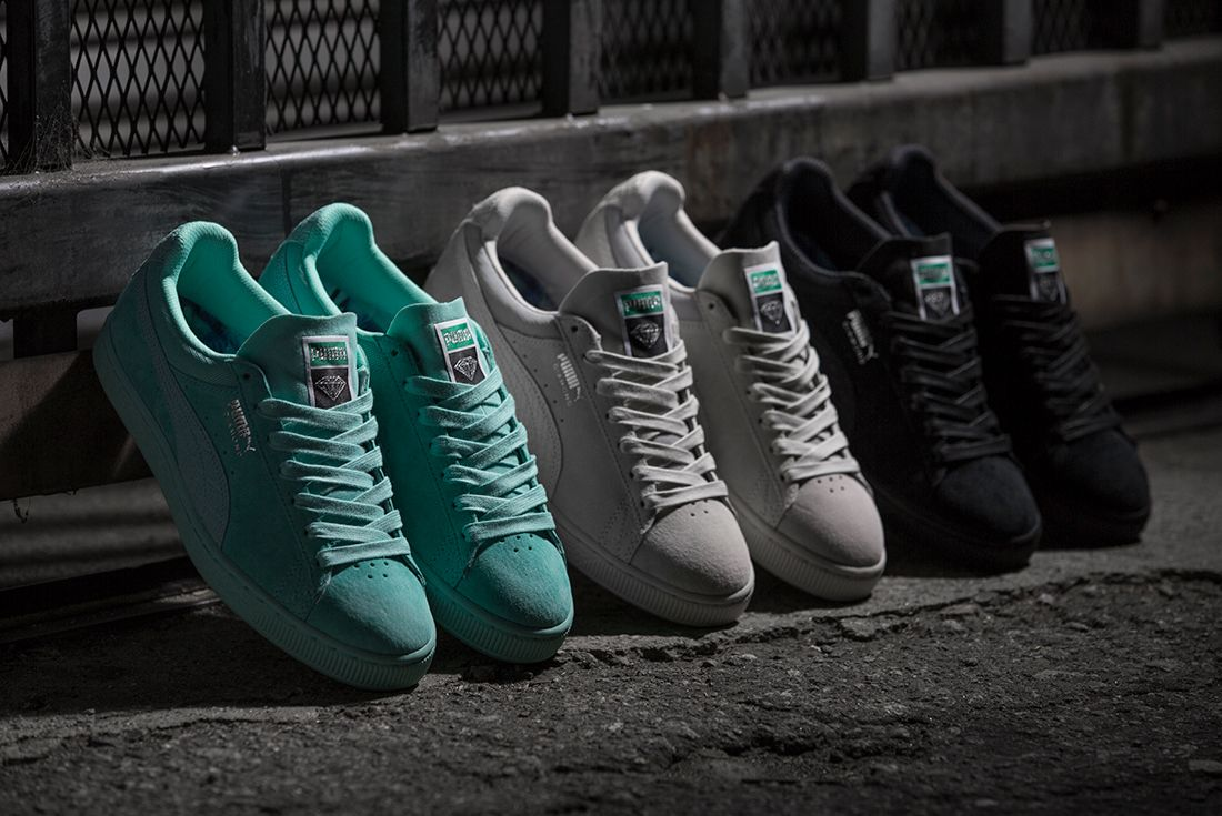 Diamond Supply Co X Puma Classic Suede Collection11