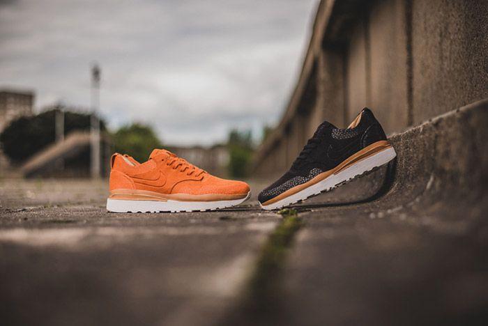 Nike Air Safari Royal Black Orange Pack 1