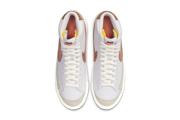 Nike Blazer Mid Vintage Python Ci1176 002 Release Date Top Down