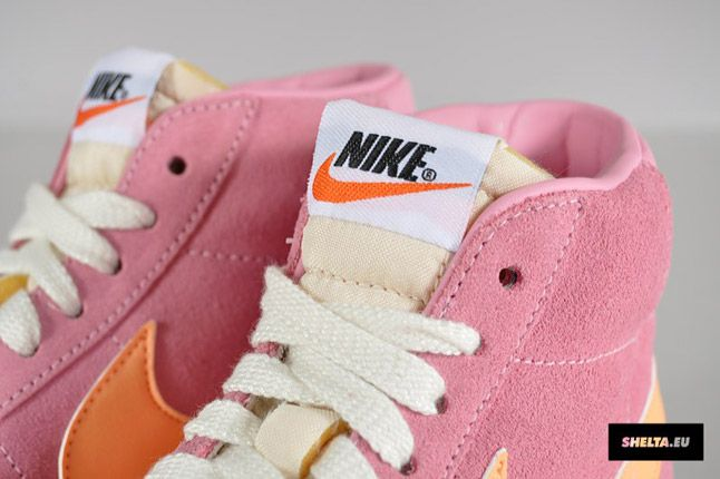 Nike Blazer High Suede Womens 08 1