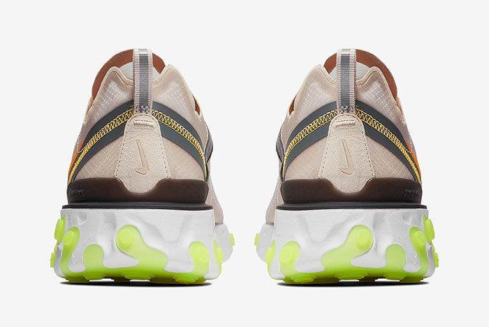 Nike React Element 87 Orewood Brown 5